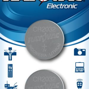3v Lithium Coin Cell Battery,  KECR2032-2